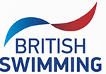 British swimming logo and link to british swimming website